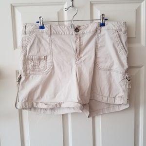Fashion Bug Khaki Shorts